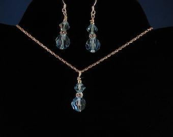 Crystal Necklace Set. Listing  20804838