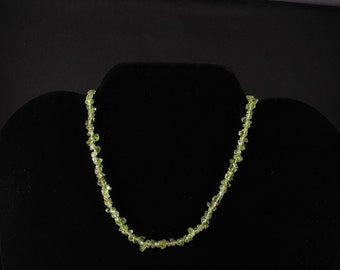Peridot Necklace. Listing 21748333