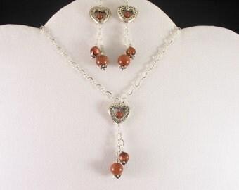 Bridesmaid Necklace Set. Listing 21849721