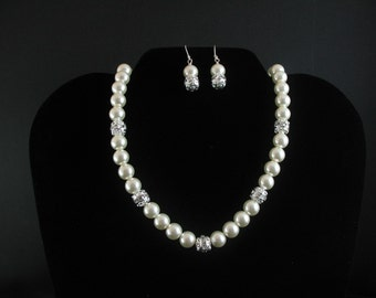 Bridal necklace Set. Listing  26301884