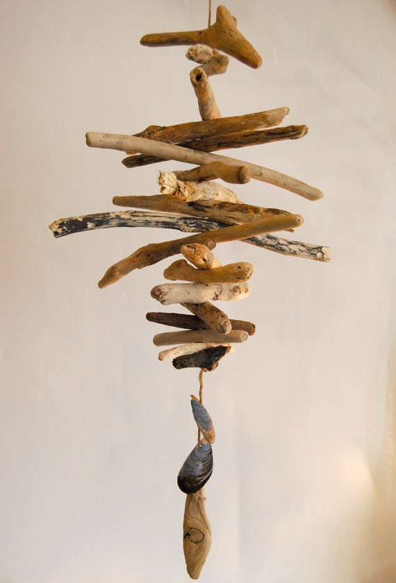 Driftwood windchime