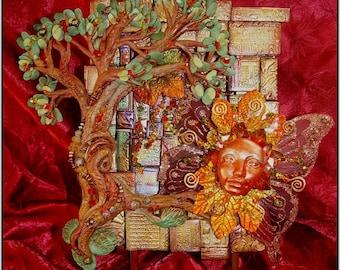 Fabulous Fall Shrine Shadow Box