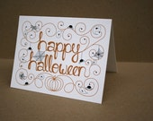 Happy Halloween- Printable Note Cards and Gift Tags