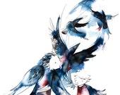 7 ravens- 8.5x11 print