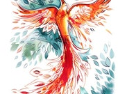 birds in fables and tales-8.5x11 print pack