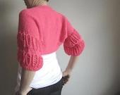 Coral -Shrug-Shawl-Woman-Summer-Fashion Shrug-Shrugs-Bolero