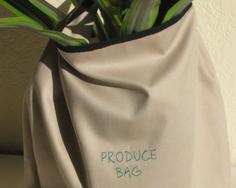 Reuseable Bamboo Produce Bags