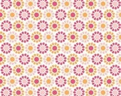 My Minds Eye for Riley Blake, Summer Song, Summer Blooms in Pink C7054 - 1/2 Yard