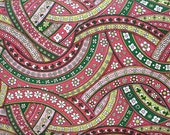 Anna Griffin for Windham, Riley, Floral Interchange in Pink and Green (29252-4) - 1 Yard Clearance