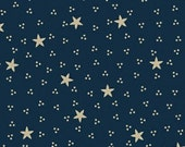 Sara Morgan for Blue Hill Fabrics, Old Glory 2, Stars and Dots in Navy Blue 7630.1 - 1/2 Yard