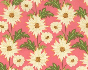 Sandi Henderson for Michael Miller, Meadowsweet, Daisy Path in Blush SH4238 - 1 Yard
