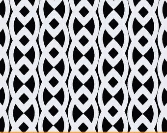 Windham, Moe3, Neo Geo, Celtic Chain in Black and White - 1 Yard Clearance