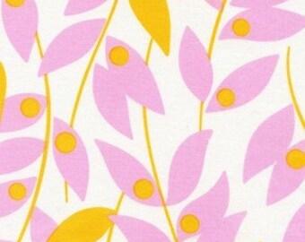 Heather Bailey, Nicey Jane, Lindy Leaf in Tangerine (HB15) - 1 Yard