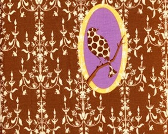 Tina Givens, Fairy Tip Toes, Chandelier Medallion in Chocolate TG65 - 1 Yard