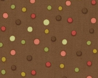 Lila Tueller for Moda, Spirit, Bubbly in Cocoa 11436.15 - 1/2 Yard