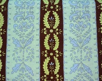Dena Designs, Snow Flower, Snow Crystal in Brown DF28 - 1 Yard Clearance
