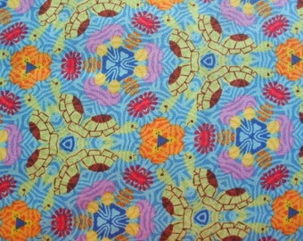 BeverlyAnn Stillwell for Lyndhurst Studios, Zipadee Zoo in Blue -1 Yard Clearance