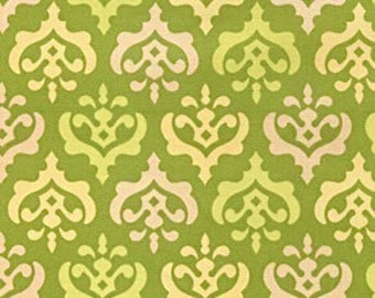 Freshcut by Heather Bailey, Crest in Lime - 1 Yard Clearance