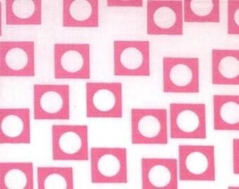 Aneela Hoey for Moda, Sherbet Pips, Play Dot in Bubble Gum 28506.16 - 1/2 Yard