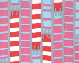 Aneela Hoey for Moda, Sherbet Pips, Scarf Stripe in Scooter Grey 18504.16 - 1/2 Yard