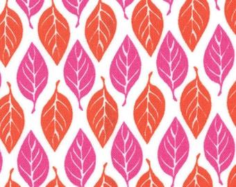Kate Spain for Moda, Terrain, Leaves in Bloom 27097.23 - 1 Yard Clearance