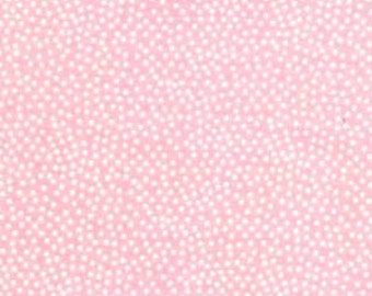 Michael Miller, Garden Pindot in Girl Pink CX1065 - 1 Yard Clearance
