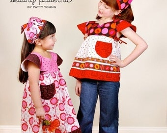 Patty Young, Modkid, Frida Sewing Pattern - Clearance