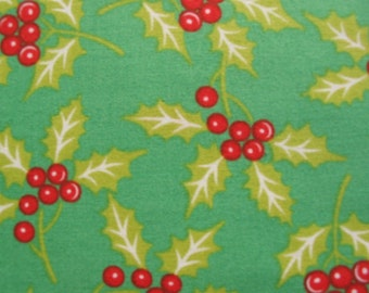 Anna Griffin for Windham, Mackenzie Christmas, Christmas Holly - 1 Yard Clearance