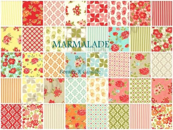 Bonnie and Camille for Moda, Marmalade 55050 - Fat Quarter Bundle
