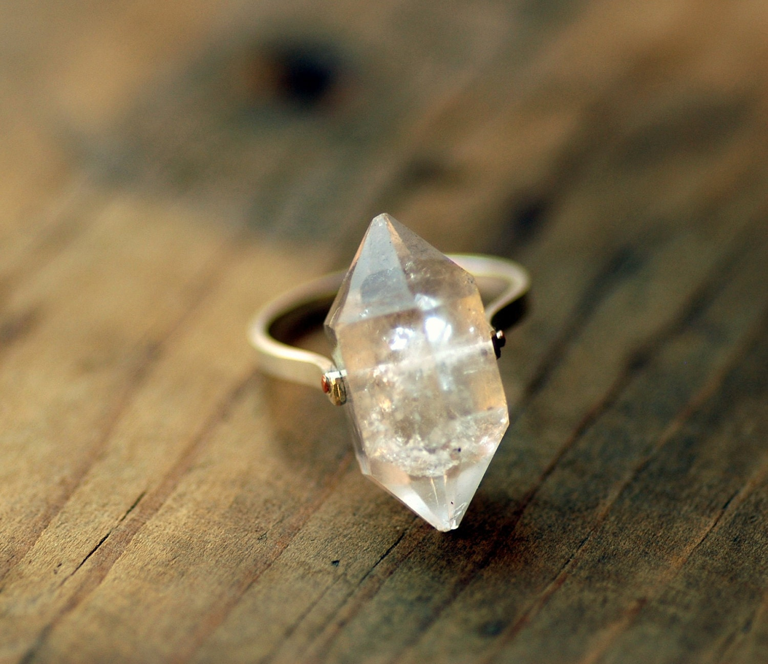 Herkimer diamond ring crystal quartz silver ring herkimer description herkimer quartz diamond ring junglespirit Image collections