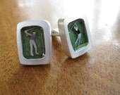 Golfer Cufflinks