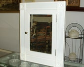 Medicine Cabinet In-Wall Victorian Style Beveled Mirror