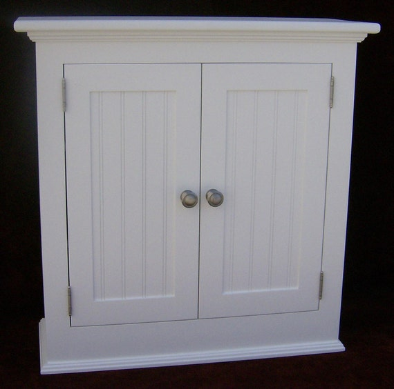 Arts and crafts bathroom storage cabinet for Arts and crafts storage cabinet