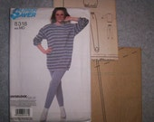 Uncut Vintage Flashdance Sewing Leggings and Tunic MD