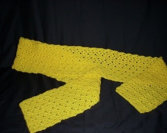 Yellow Scarf Winter Scarf