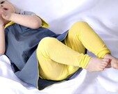 lemon leggings & matching top - baby - bright yellow - sizes 3 mos up to 2T - from marissa v.