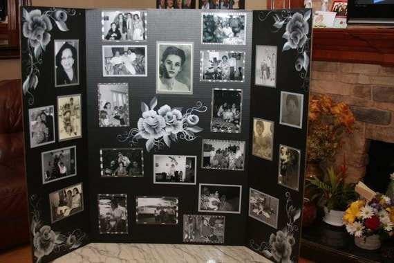 Ideas For Photography Boards : Items similar to funeral picture boards or other occasions