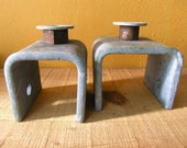 Industrial Home Decor, Metal Candle Holders