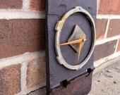 Industrial Decor, Wall Clock