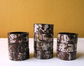 Set of 12 Napkin Holders from reclaimed pipe