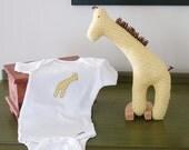 Giraffe and Onesie Gift Set