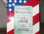 American Flag Photo Frame