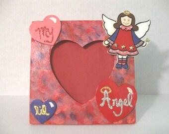 My lil Angel photo frame