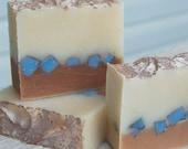 Bamboo and Teak handmade soap.