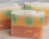 Ruby Grapefruit Handmade Jovia Soap
