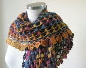 RESERVED FOR EV Batik Design Colorful Shawl