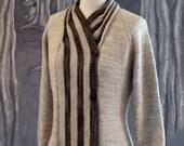 Ribbon Candy Cardigan knitting pattern (PDF)