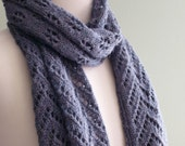 Port Alice Scarf Knitting Pattern (PDF)