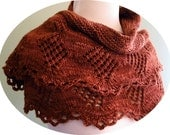 Theory Shawlette Knitting Pattern (PDF)