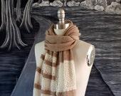 Alsace Scarf Knitting Pattern PDF